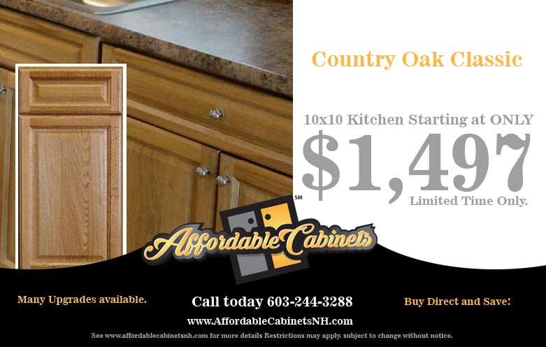 Affordable Cabinets Serving NH, MA, VT, ME Starting at $29.99 per sf ...