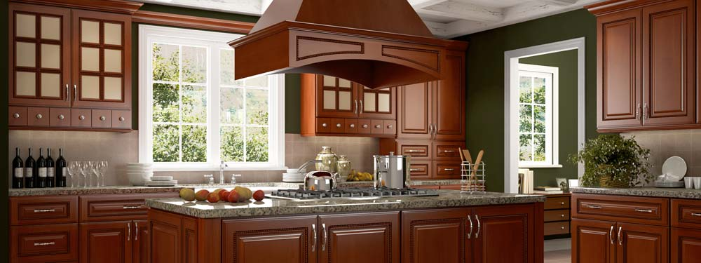 Sienna Rope Cabinets - Quality Granite Countertops NH Starting at ...