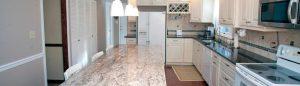 floratta white granite-kitchen