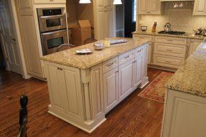 new venetian gold granite-kitchen