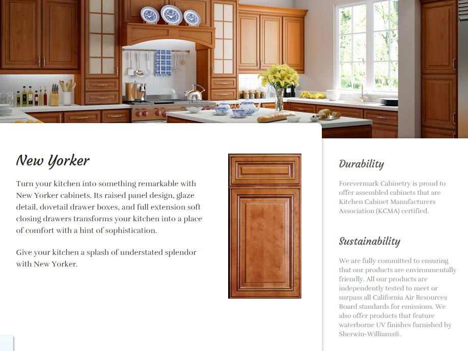 New Yorker Kitchen Cabinets