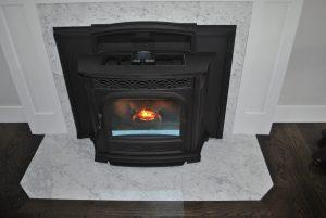 Carara Marble Fireplace
