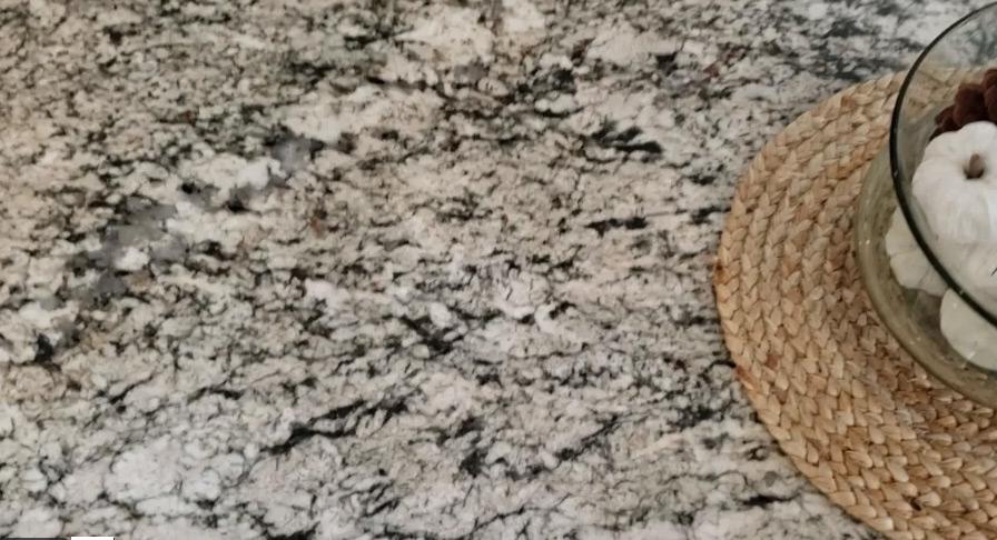 Exodus White Granite Countertops